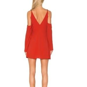 Lovers + Friends Dresses - NWT Lovers + Friends Red Wrap Dress